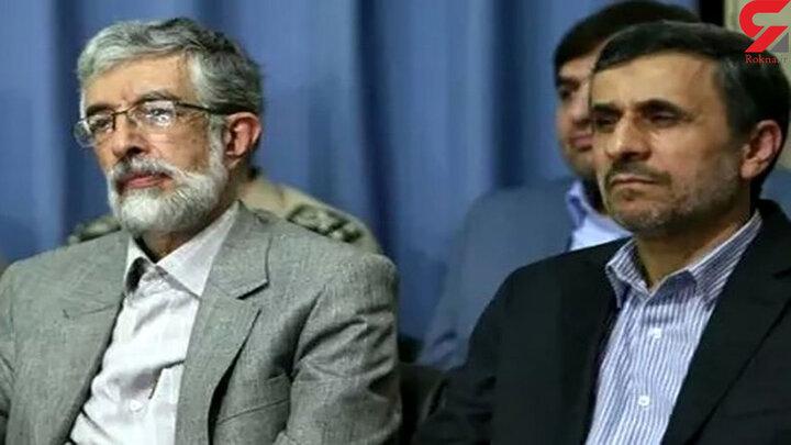 اظهارات حداد عادل درباره احمدی نژاد، مثل زوال زودرس عقل در پیری