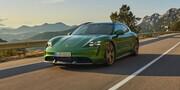 اولین فیلم از جدیدترین خودروی پورشه / Taycan Turbo S Cross Turismo 2022