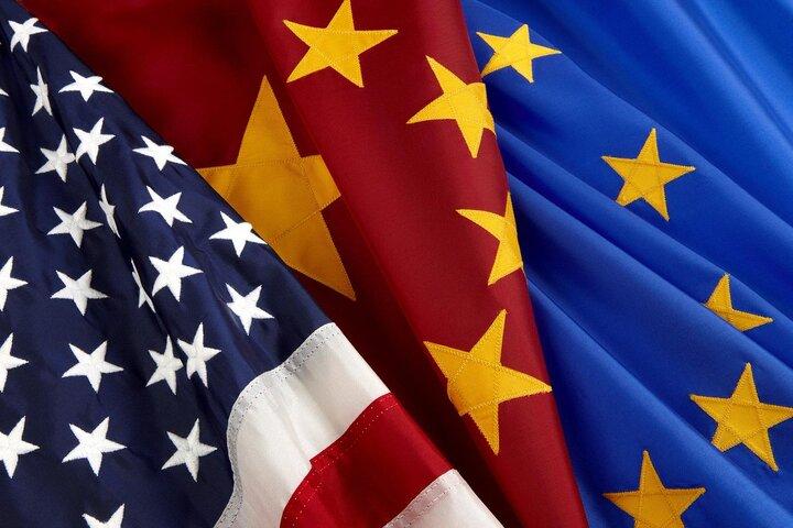 اروپا و آمریکا در برابر روسیه و چین