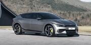 اولین فیلم از خودروی تمام برقی کیا - 2022 Kia EV6 GT