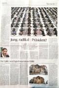 چه کسی مقاله درباره سعید محمد را در روزنامه آلمانی کارسازی کرد؟
