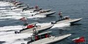 کشتیهای آمریکایی در محاصره قایق های سپاه