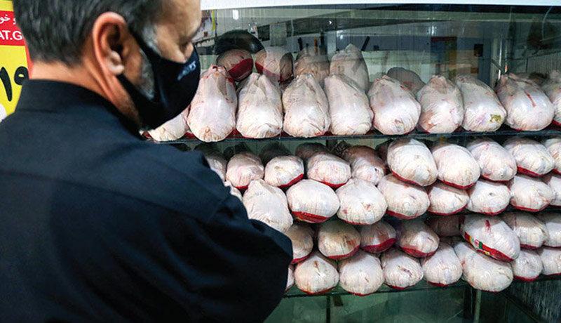 قیمت مرغ به 65 هزار تومان رسید