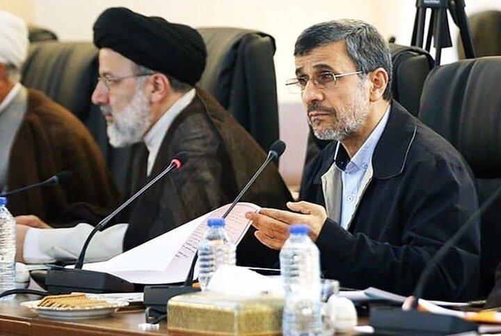 هدیه دلاری احمدی نژاد به رئیسی