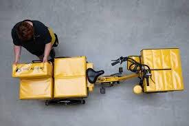 دوچرخه های الکتریکی باربر جایگزینی برای پیک موتوری