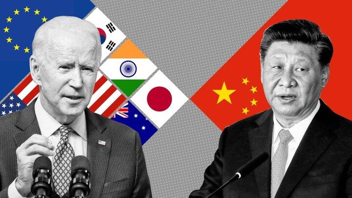 ائتلاف نظامی بایدن علیه چین